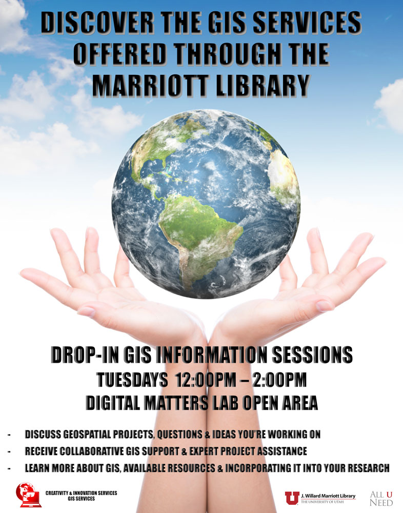 Drop-In GIS Information Sessions