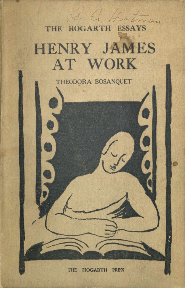 Bosanquet, Henry James at work, 1924