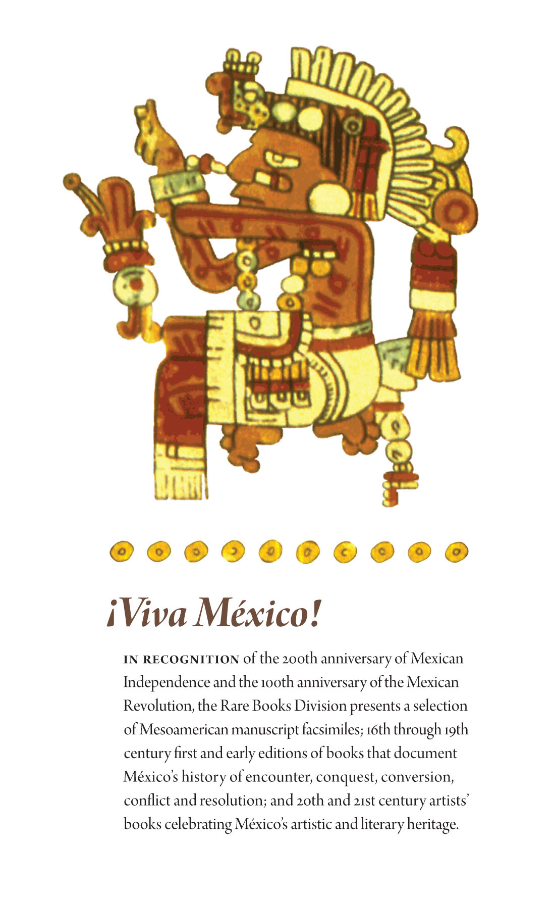Viva Mexica Exhibition Poster