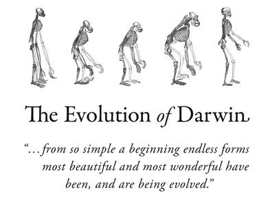 David Wolske Evolution of Darwin Exhibition Poster 2009