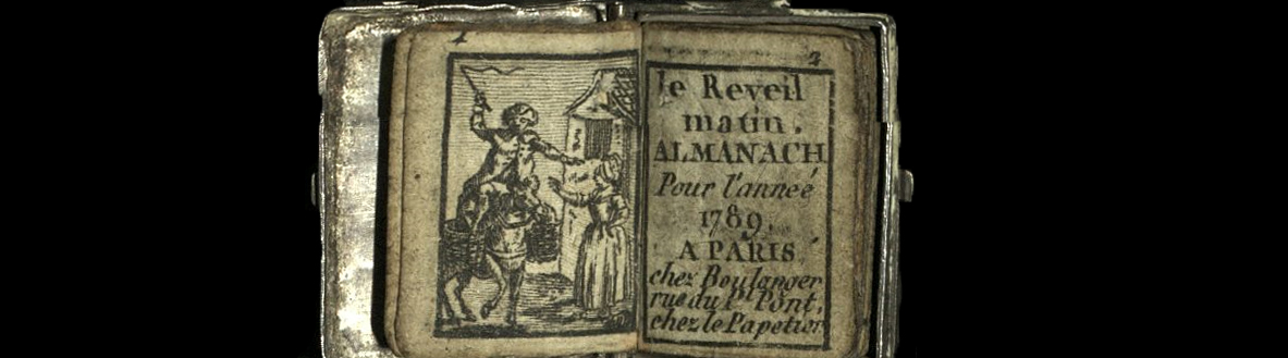 Featured image of BOOK OF THE WEEK — LE REVEIL MATIN ALMANACH POUR L'ANNÉE 1789 : An Open Book Blog Post