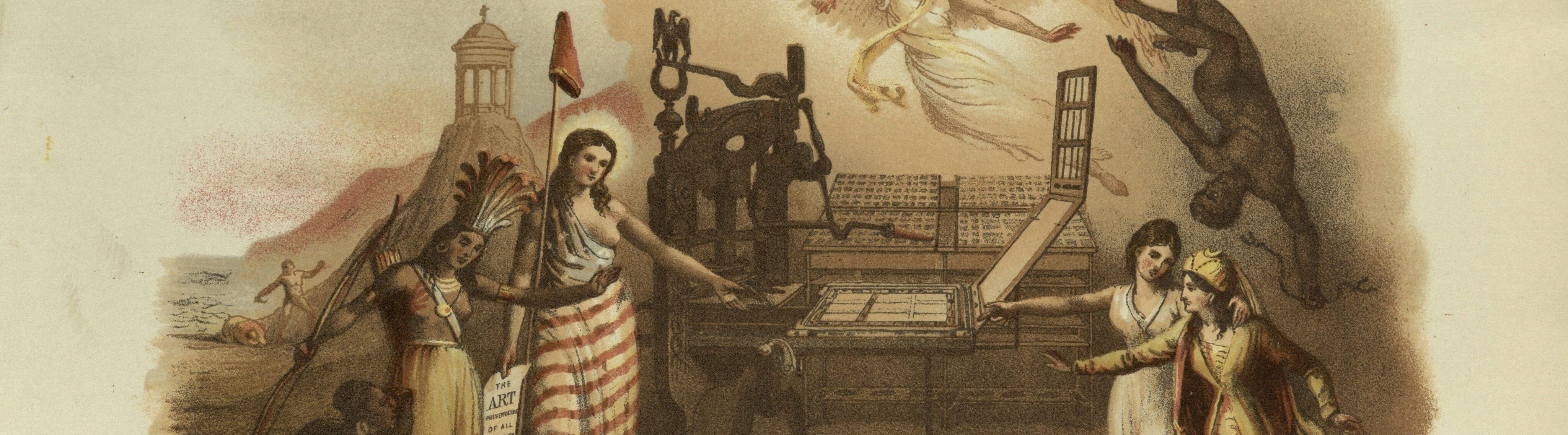 Featured image of BOOK OF THE WEEK — AMERICAN ENCYCLOPEDIA OF PRINTING : An Open Book Blog Post