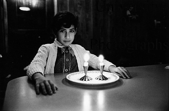 Iranian Girl with Candles (1986. Kent Miles)